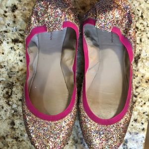 BCBGeneration Multi Color Flats